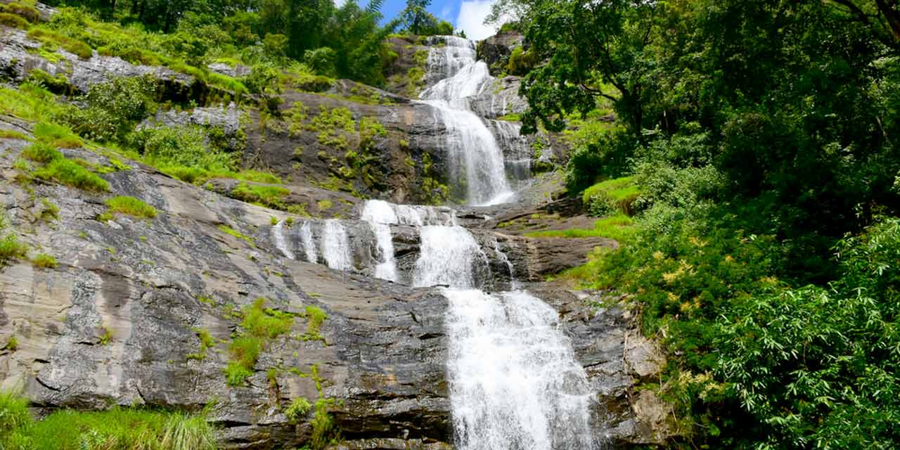 Cheeyappara Waterfalls, Kerala
